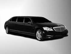 AUTO CARS,  BIKES & VEHICLES: Armored Mercedes S550 30