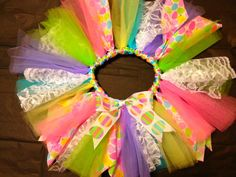 """Easter """"Over the Top"""" TuTu"""
