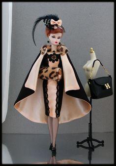 OOAK Fashions for Silkstone Fashion Royalty Vintage Barbie with Zipper   eBay  $159.00 buy it now.  9/20/2015