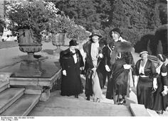 Crown Princess Cecilie of Prussia at Sansoucci, Potsdam in 1933