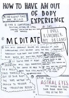 out of body (via meditation). a) i don't think i *want* to have an out of body experience b) does this work if you're a skeptic? Witch Spell Book, Witchcraft Spell Books, Spiritual Manifestation, Spiritual Awakening, Awakening Quotes, Spiritual Health, Mental Health, Les Chakras, Witchcraft For Beginners