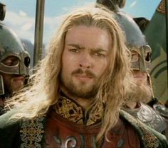 """What business does an Elf, a Man & a Dwarf have in the Riddlemark?"" -Éomer"