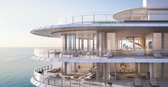 luxury apartment in Renzo Piano's Miami condo building
