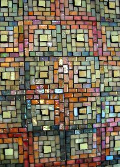 Log Cabin Panel Mosaic by Margaret Almon | Flickr - Photo Sharing!