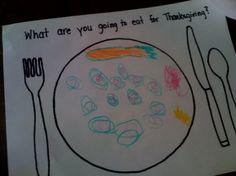 Thanksgiving in preschool