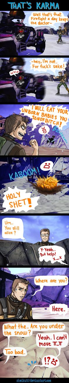 BORDERLANDS: Karma by sheiku92