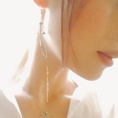 エノキダケの耳飾り