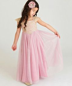 Think Pink Bows Dusty Rose Georgia Belle Dress - Infant, Toddler & Girls Spring Dresses, Prom Dresses, Formal Dresses, Girl Thinking, Belle Dress, Georgia, Lace Bodice, Little Princess, Dusty Rose