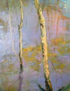 tidal pond branches #1~ oil ~ by madeline dukes