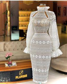 Elegant Dresses, Pretty Dresses, Vintage Dresses, Formal Dresses, Peplum Dress, Lace Dress, Lace Gowns, Applique Wedding Dress, African Attire
