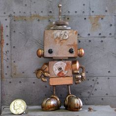 Forgotten Robot  W73 by forgottenrobots on Etsy