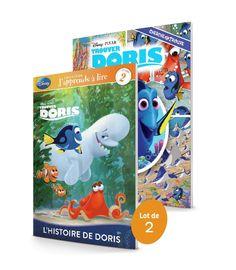Trouver Doris - Cherche et trouve / J'apprends à lire - Lot de 2 livres de 20…
