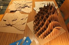 ICON- Parametric Cardboard Sculpture / Toby Horricks - eVolo | Architecture Magazine