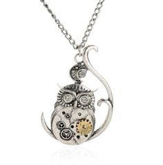 """Steam Punk Owl Necklace Visit us on here ==> http://canawan.com and use the code """"OFF15"""" to get discount 15%"""