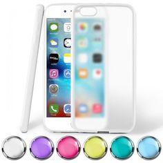 Impact-Cover-fuer-Apple-iPhone-Schutz-Huelle-TPU-Durchsichtig-Matt-Handyhuelle