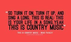 This is country music. And we do!!