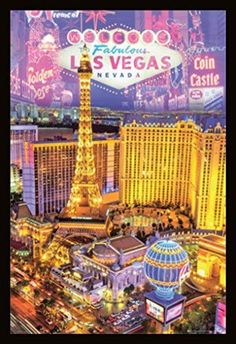 Las Vegas Nevada Collage Poster Magnetic Notice Board Black Framed - x 66 cms (Approx 38 x 26 inches) Cruise Insurance, Dorm Posters, Las Vegas Vacation, Las Vegas Strip, Las Vegas Nevada, Vintage Travel Posters, Travel Usa, Poster Prints, Art Print
