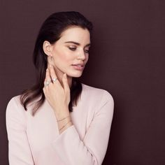 """Spotted! This elegance looks from PANDORA Autumn Collection #pandorathailand #tanachira #pandorastyle #bracelet #ring #accessories #fashion"""