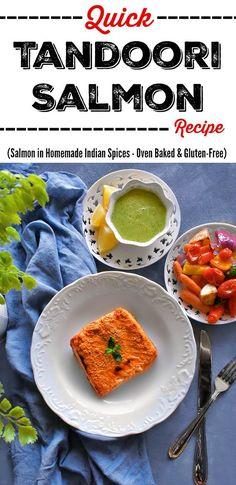 Quick Tandoori Salmon Recipe: #tandoori #salmon #recipe