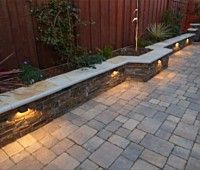 Outdoor lighting ideas for backyard, patios, garage. Diy outdoor lighting for front of house, backyard garden lighting for a party Front Yard Decor, Front Yard Landscaping, Landscaping Ideas, Patio Ideas, Garden Ideas, Landscaping Edging, Florida Landscaping, Privacy Landscaping, Garden Boxes
