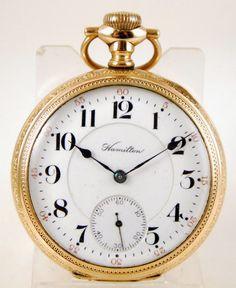 Reloj lepine HAMILTON c.1908