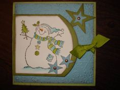 Stampin' Up A Merry Season