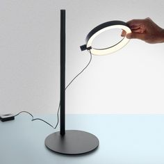 Ipparco LED Table Lamp designed by Neil Poulton for Artemide. Available at the Dwell Store: store.dwell.com