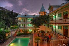 Kinam Hotel , petion-ville  - Scene from Haiti