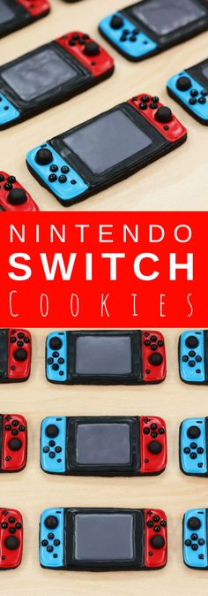 Nerdy Nummies - Nintendo Switch Chocolate Cookie Recipe