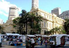 Feirinha da Praça da República, São Paulo, Brasil.