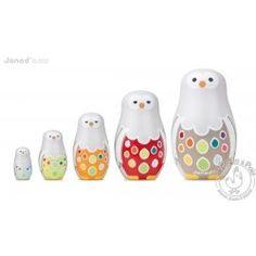 Owly family chouettes gigognes - Janod 31€ à trouver moins cher