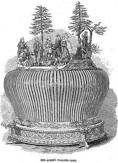 1849, Queen Victoria's 12th Cake