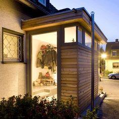 Die 26 Besten Bilder Von B1 Windfang House Entrance Facades Und