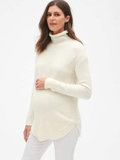 Gap Maternity Turtleneck Pullover Sweater knitting easy, knitting scarves, knitting for kids Knitting For Kids, Easy Knitting, Knitting For Beginners, Knitting Scarves, Gap Women, Cream Sweater, Rib Knit, Beautiful Outfits, Pullover Sweaters