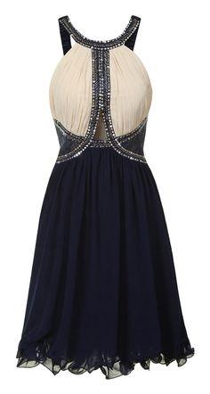 #Navy #Sequined #Embellished #Dress