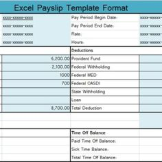 Payslip Template Free Download Project Cost Template Excel  Projecttactics  Project Management .
