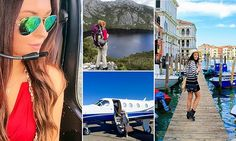 The 23-year-old travelling the world ... and getting paid to do it #DailyMail | See this & more at: http://twodaysnewstand.weebly.com/mail-onlinecom