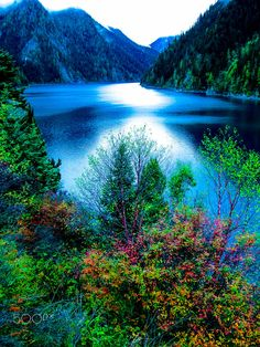 Jiuzhaigou ( CHINA ) autumn scenery  ----  by  雨奇晴舟