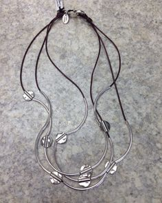 We are loving this Lizzy James jewelry piece. Wear it as a necklace or bracelet! #lux #luxboutique #fabuLUX #lizzyjames