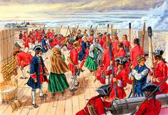 Madame Drucour fires the guns, June–July 1758 at Louisbourg