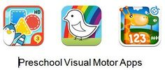Preschool Visual Motor Apps Gone Free! - Pinned by @PediaStaff – Please Visit ht.ly/63sNtfor all our pediatric therapy pins
