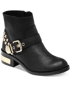 Vince Camuto Windetta Studded Moto Booties.  Love these boots!  Very comfortable, very nice quality.