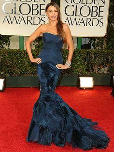 Sofia Vergara at the Golden Globe Awards