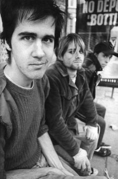Nirvana. Kurt looking amazing as always