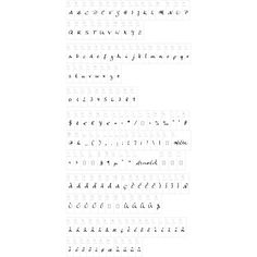 Anke Calligraphic FG ❤ liked on Polyvore
