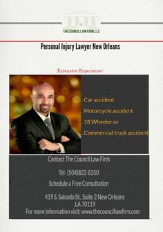 Personal injury lawyers Orleans, Baton Rouge