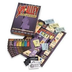 Spy Alley and thousands more of the very best toys at Fat Brain Toys. From Mata Hari to James Bond, spies and secret agents have filled our imaginations. Now, you get the chance to play spy and counter spy in a dark alley - SPY. Board Games For Girls, Family Board Games, Fun Board Games, Games For Kids, Games To Play, Zombie Board Game, Spy Games, Rainbow Resource, Family Game Night
