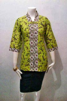 Blouse Batik Model Savira Call Order : 085-959-844-222, 087-835-218-426  Pin BB 249FA83B Blouse Batik Model Savira Harga Retailer : Rp. 95.000 / pcs ukuran : Allsize  Ket Blouse batik wanita modern cocok untuk seragam batik kantor dengan kain batik berkualitas bahan kain batik : katun