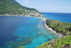 This is Dominica, an unspoiled tropical island located in the Lesser Antilles section of the Caribbean