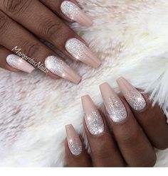 Ombre nails - Miladi